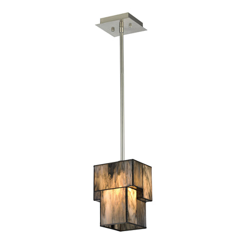 ELK Lighting 72072-1 Cubist Collection Brushed Nickel Finish - PeazzLighting