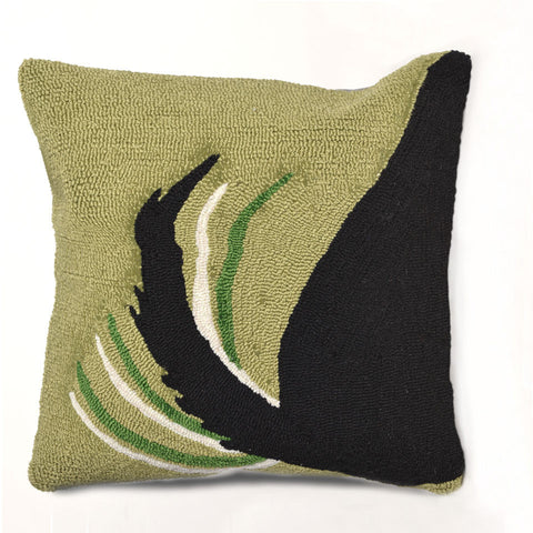 Trans-Ocean Imports 7FP8S142906 Frontporch Collection Green Finish Pillow - Peazz.com