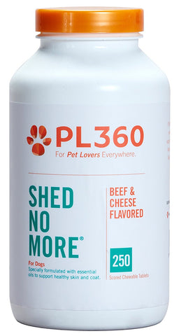 Shed No More For Dogs, 250 ChewableTablets - Peazz Pet