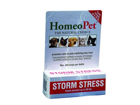 HomeoPet ProStorm Stress Dog <20# 5 ml RED - Peazz Pet
