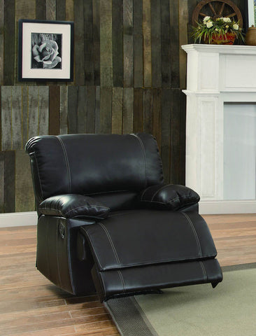 Homelegance 8403-1 Cassville Collection Color • Dark Brown Bi-Cast Vinyl - Peazz.com - 1