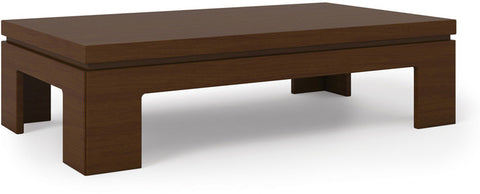 Manhattan Comfort 84651 Bridge Collection Nut Brown Finish - Peazz.com - 1