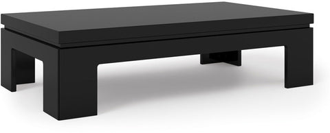 Manhattan Comfort 84653 Bridge Collection Black Gloss Finish - Peazz.com - 1
