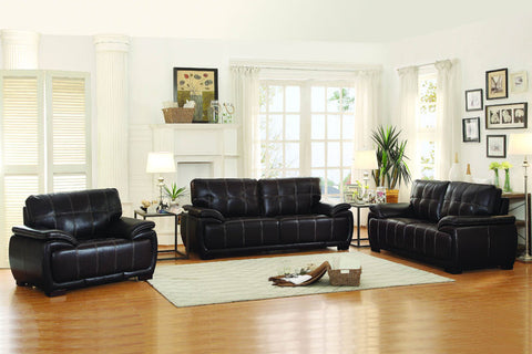Homelegance 8468-1 Alpena Collection Color Dark Brown Airehyde - Peazz.com - 1