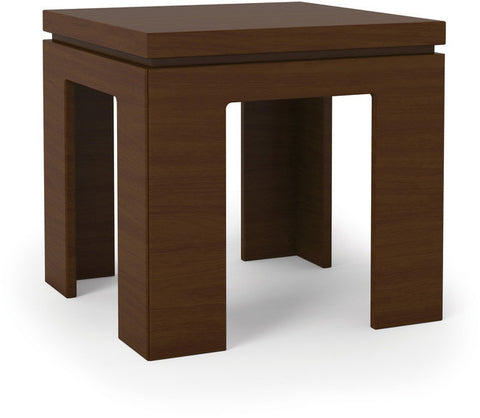 Manhattan Comfort 84751 Bridge Collection Nut Brown Finish - Peazz.com - 1