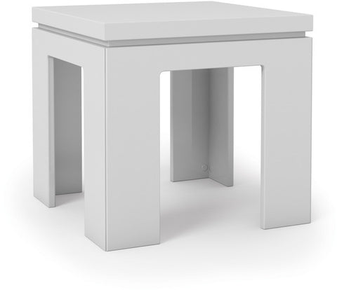Manhattan Comfort 84752 Bridge Collection White Gloss Finish - Peazz.com - 1