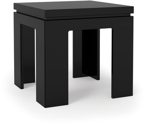 Manhattan Comfort 84753 Bridge Collection Black Gloss Finish - Peazz.com - 1