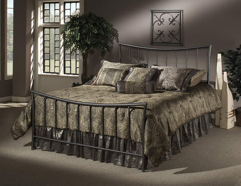 Hillsdale 1333BKR Edgewood King Bed Set with Rails