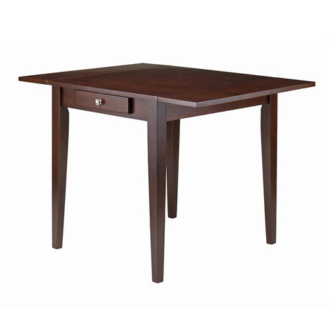 Winsome Wood 94141 Hamilton Double Drop Leaf Dining Table - Peazz.com - 1
