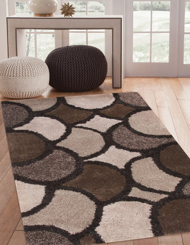 Bayden Hill 9869-8x10 Lifestyle Lennox Charcoal/Lt. Grey/Brown Area Rug