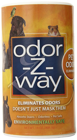 Odor-Z-Way 15058 OdorZWay Pet Odor Eliminator, 14 oz. ORANGE - Peazz Pet