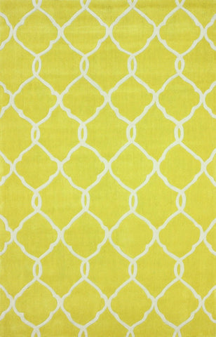 Nuloom ACR128B-609 Cine Collection Lemon Finish Hand Tufted Linx Area Rug - Peazz.com