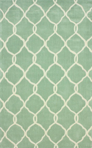 Nuloom ACR128C-508 Cine Collection Glacier Finish Hand Tufted Linx Area Rug - Peazz.com