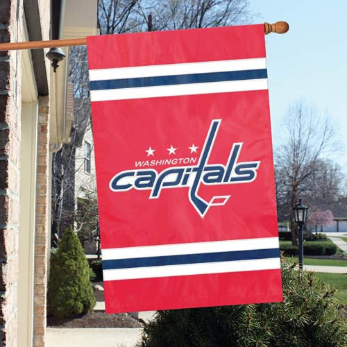 The Party Animal, Inc. AFCAP Washington Capitals Appliqué Banner Flag