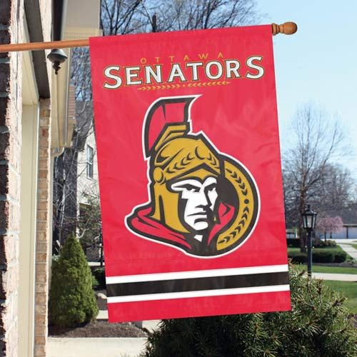 The Party Animal, Inc. AFSEN Ottawa Senators Appliqué Banner Flag