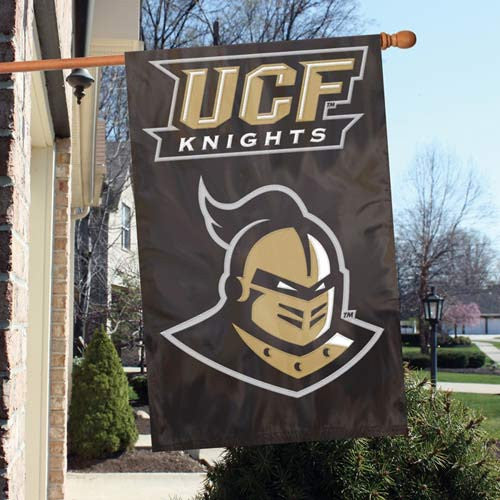 The Party Animal, Inc. AFUCF Central Florida Knights Appliqué Banner Flag