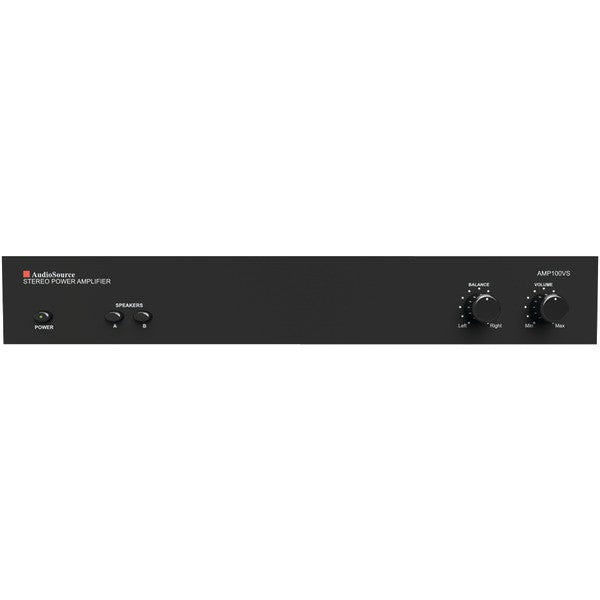 Audiosource Amp100vs Amp100vs 2-channel Analog Power Amp (50 Watts Per Channel)