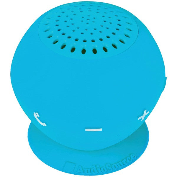 Audiosource Sp2blu Sound Pop 2 Water-resistant Bluetooth Speaker (blue)