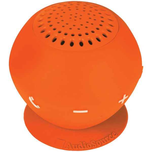 Audiosource Sp2ora Sound Pop 2 Water-resistant Bluetooth Speaker (orange)