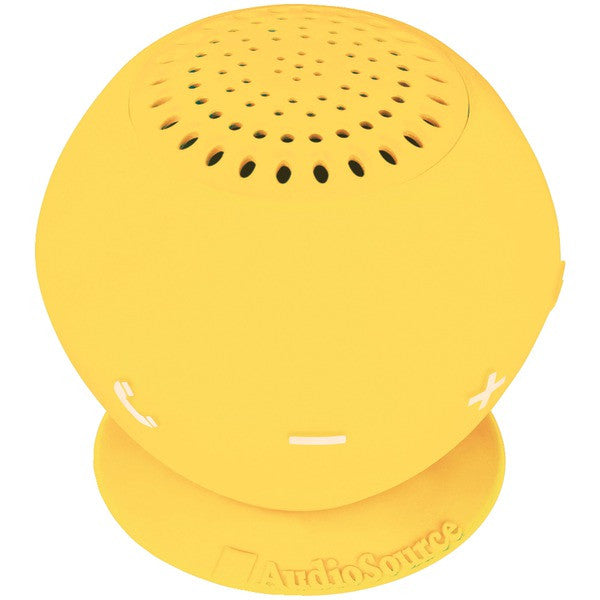Audiosource Sp2yel Sound Pop 2 Water-resistant Bluetooth Speaker (yellow)