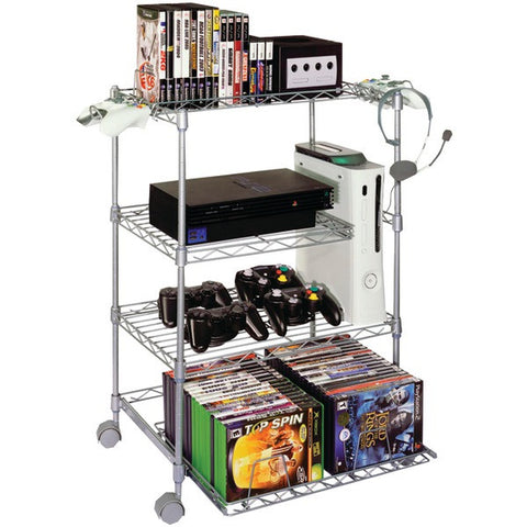Gamekeeper 45506019 4-Tier Wire Gaming Tower - Peazz.com