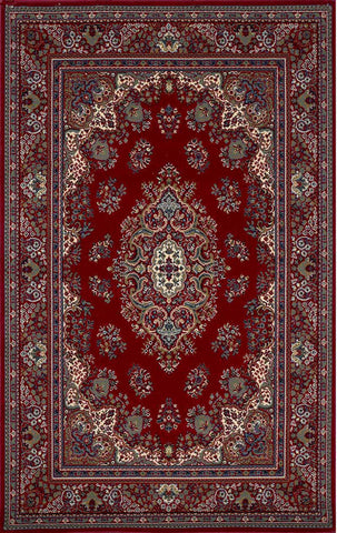 Trans-Ocean Imports ATNP4109124 Athena Collection Red Finish Indoor Rug - Peazz.com