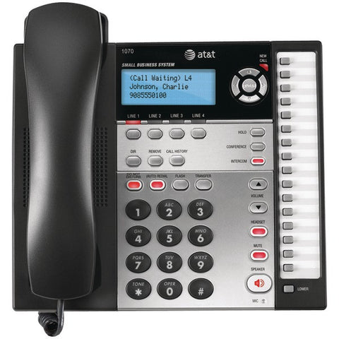 AT&T 1070 4-Line Speakerphone with Caller ID - Peazz.com