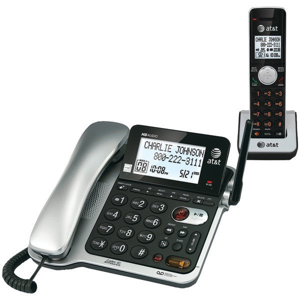 At&t Cl84102 Corded/cordless Phone System With Answer, Caller Id/call Waiting
