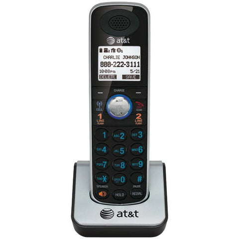 AT&T TL86009 DECT 6.0 2-Line Corded/Cordless Phone System with Bluetooth (Additional handset) - Peazz.com