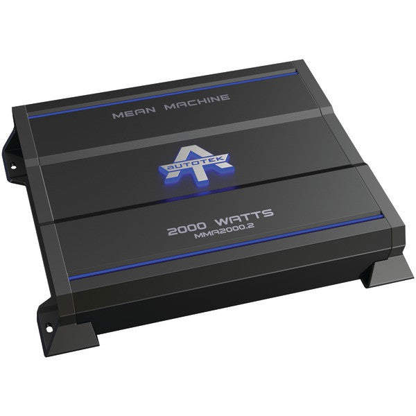 Autotek Mma2000.2 The Mean Machine 2-channel Class Ab Amp (2,000 Watts)