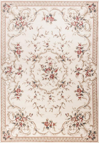 KAS Rugs AVA5606710X910 Avalon Collection Ivory Finish