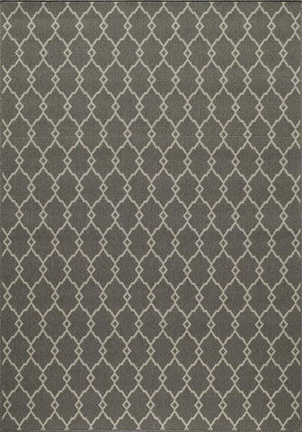 Momeni BAJA0BAJ-2GRY7AAA EGYPTIAN MACHINE MADE Baja Collection Grey Finish Rugs