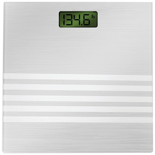 Bally Total Fitness Bls-7301 Silver Digital Scale (silver)