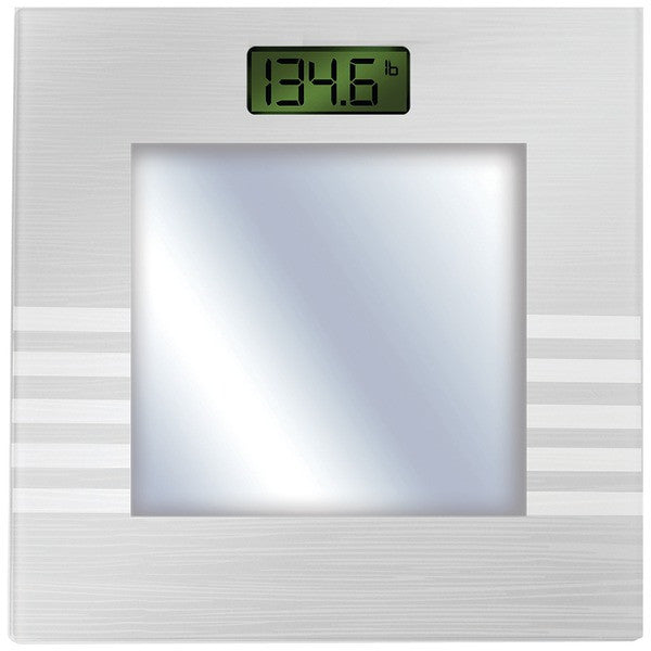 Bally Total Fitness Bls-7361 Silver Bluetooth Digital Body Mass Scale (silver)