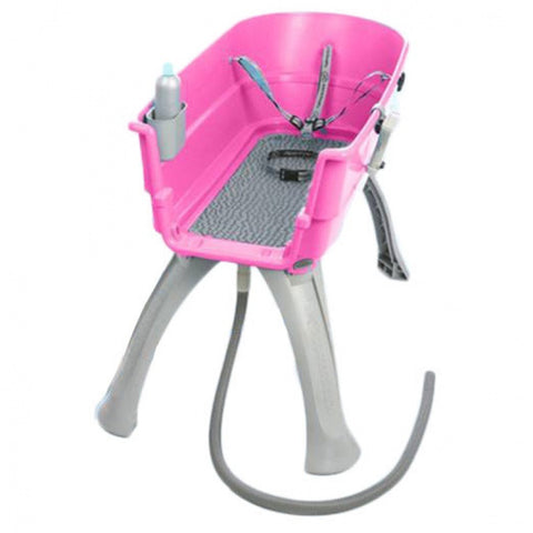 "Paws For Thought BB-MEDIUM Booster Bath Medium 33"" x 16.75"" x 10"" (Pink) - Peazz.com"
