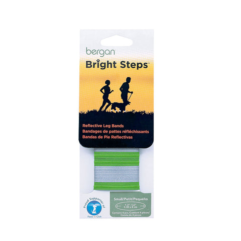 Bergan BER-88412 Bright Steps Reflective Leg Bands