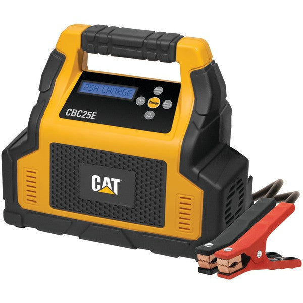 Cat Cbc25e 25-amp Battery Charger With 7-amp Engine Start