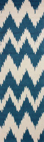 Nuloom BHBC36A-2608 Barcelona Collection Medium Blue Finish Hand Tufted Clarise - Peazz.com