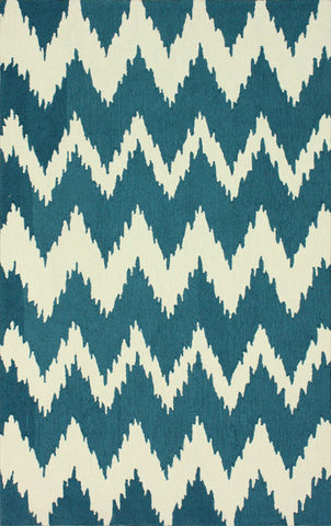 Nuloom BHBC36A-508 Barcelona Collection Medium Blue Finish Hand Tufted Clarise - Peazz.com
