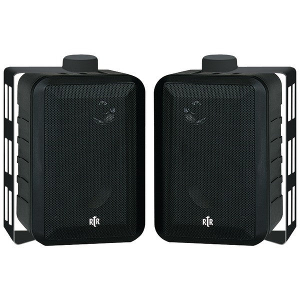 "Bic America Rtrv44-2 4"" Rtr Series 3-way Indoor/outdoor Speakers (black)"