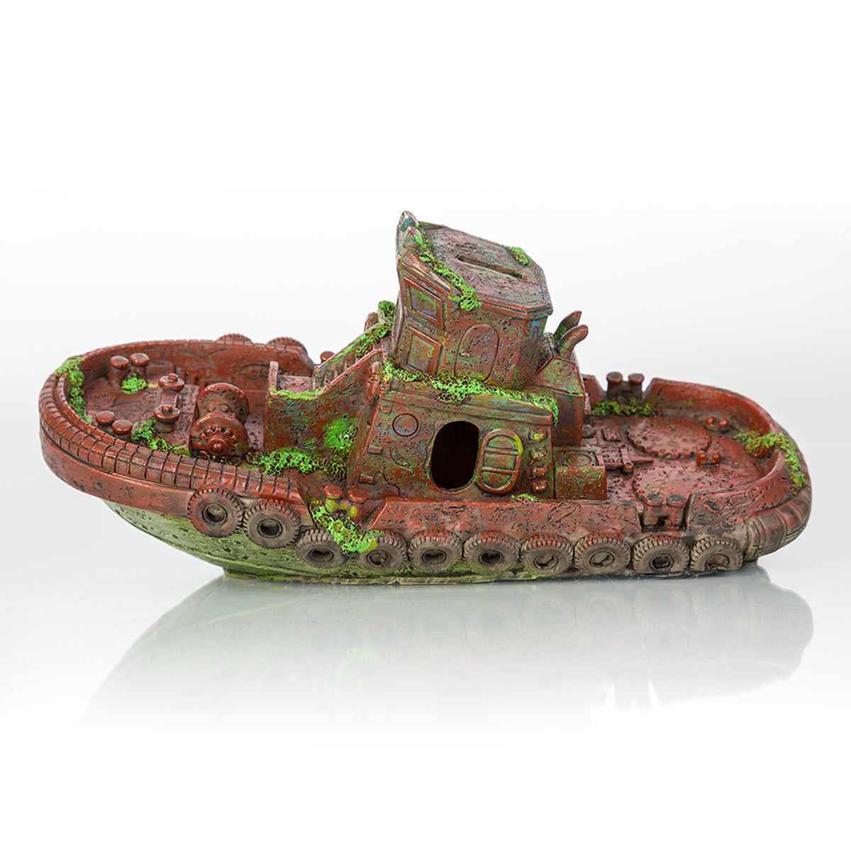 Biobubble Bio-60307300 Decorative Sunken Tugboat