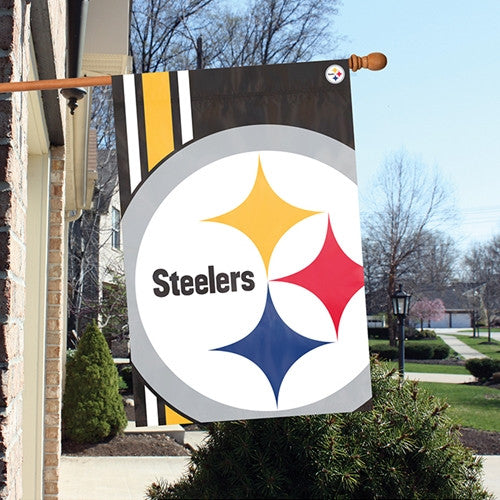 Party Animal, Inc. BLST Pittsburgh Steelers Bold Logo Banner