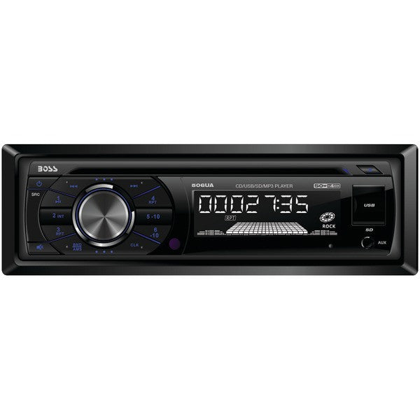 Boss Audio Systems 506ua Single-din In-dash Cd Am/fm/mp3 Receiver