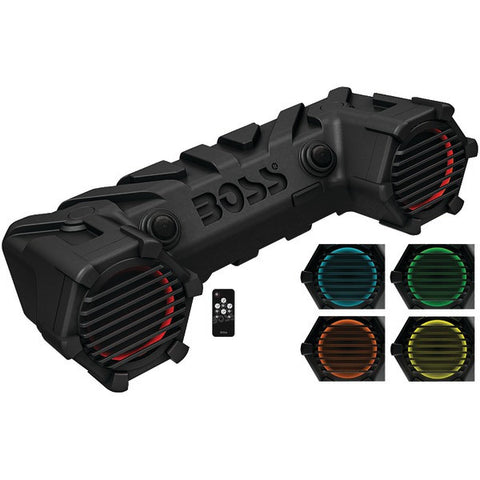 "Boss Audio Systems ATV30BRGB All-Terrain 450-Watt Sound System with Internal Amp, 6.5"" Speakers, Bluetooth & RGB Illumination - Peazz.com"