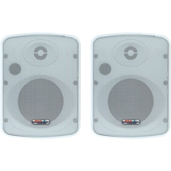"Boss Audio Systems Mr12 3"" 2-way Enclosed Box Marine Speaker System"