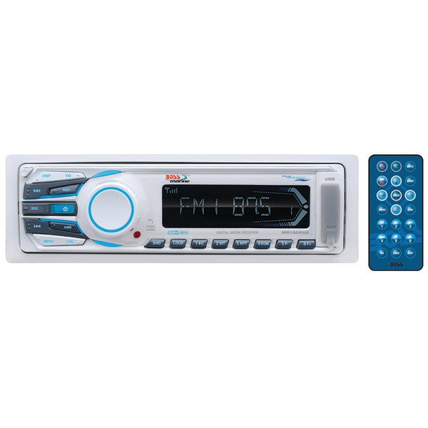 Boss Audio Systems Mr1306ua Marine Single-din In-dash Mechless Am/fm Receiver