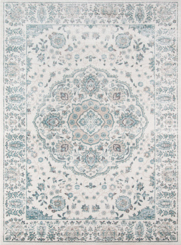 Momeni BROOKBH-04IVY3B57 Turkish Machine Made Brooklyn Heights Collection Ivory Finish Rugs