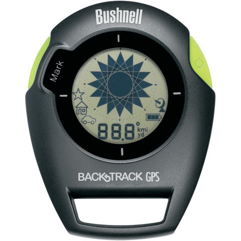 Bushnell 360401 BackTrack G2 Personal Locator (Black/Green) - Peazz.com