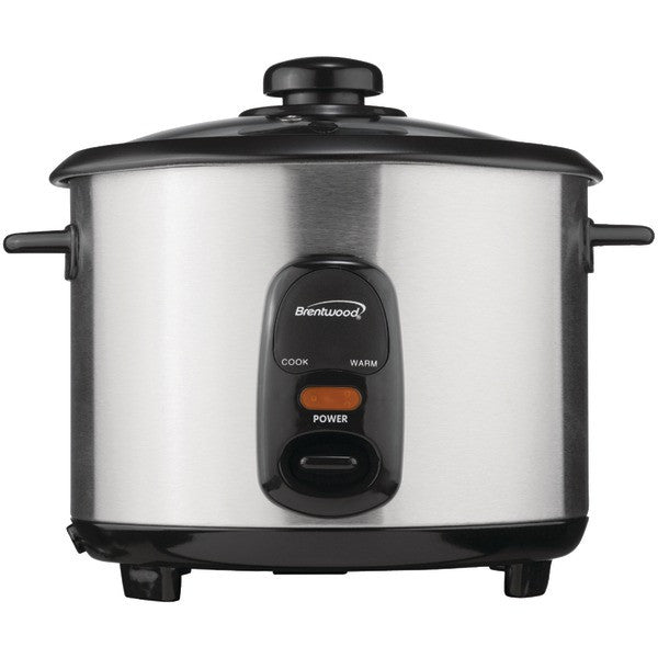 Brentwood Appliances TS-10 5-Cup Stainless Steel Rice Cooker