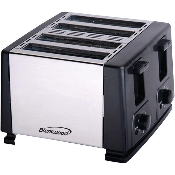 Brentwood Appliances TS-284 4-Slice Toaster (Black) PTR-BTWTS284